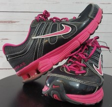 Nike Womens Sneakers size 7.5 Reax Rocket 2 Hot Pink Black Running Shoes... - $25.19