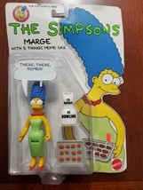 The Simpsons 1990 Marge With 5 Things Moms Say Figure  Mattel 9087 - $16.78