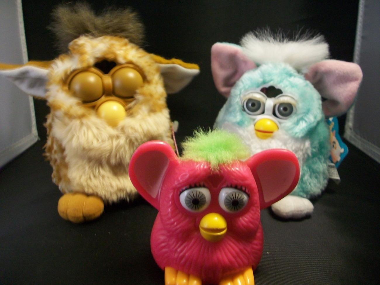 Tiger Original Furby 1998 Furby Baby 1999 McDonald's Furby ...