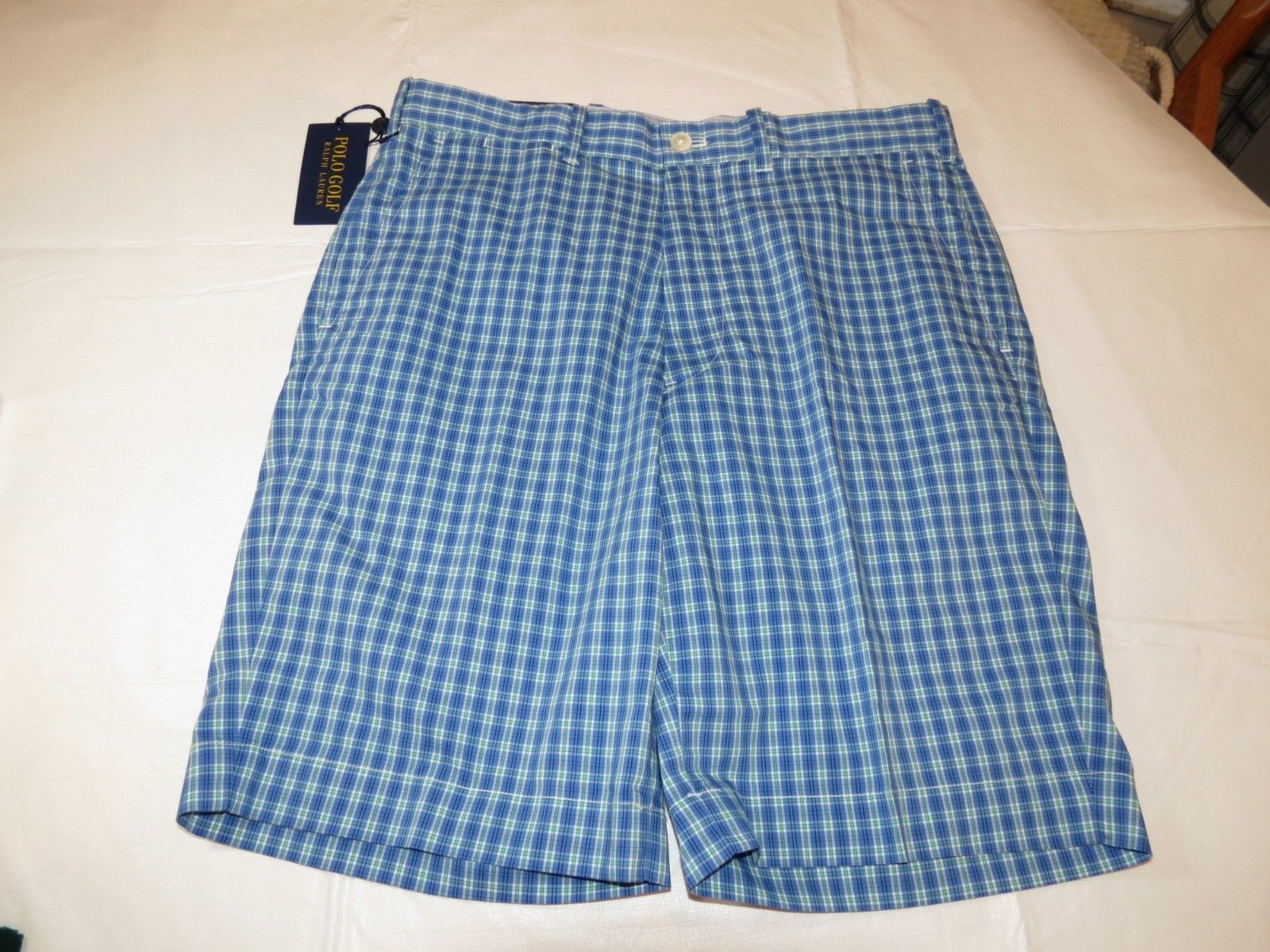 Primary image for Polo Golf Ralph Lauren Mens Shorts 40 Golf Classic Fit Blue 799001 casual short