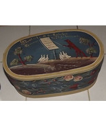 Antique German Pennsylvania Dutch decorated Wolf Goose wooden brides box - $291.66