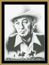 Hollywood Greats Robert Mitchem cross stitch chart Mystic Stitch - $14.40
