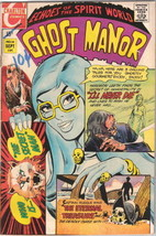 Ghost Manor Comic Book #14, Charlton 1970 FINE - $9.74
