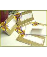 Name Place Cards 6 Pack Table Setting Entertaining Event Dinner Party - $4.75