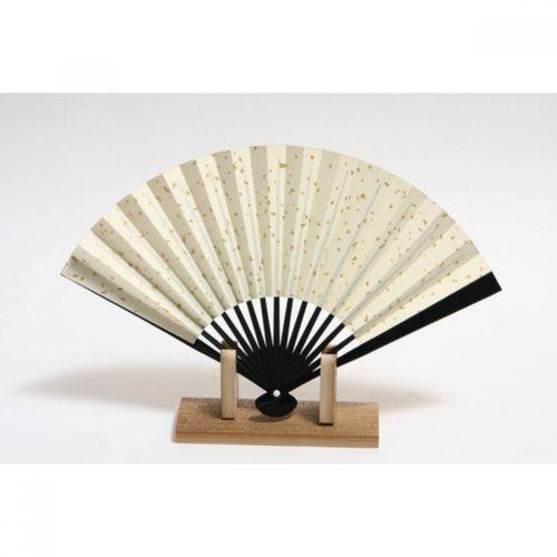 Japanese Fan Stand : Sensu japanese folding fan akikusa gold and similar items