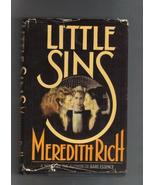Little Sins, by Meredith Rich,  Hardcover with Sleeve, 1968 - $3.00