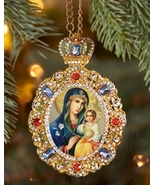 Eternal Bloom Enameled Ornament - $35.95