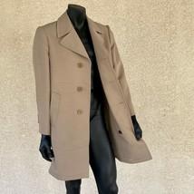Vintage Zero King Vento Pioggia Repellente Marroncino Cappotto Uomo 42 P... - $36.28
