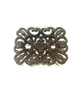 Cast Iron Clover Soap Dish Rustic Brown - $9.89
