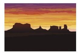 3 Pc. Western Desert Backdrop Banner (3 ft. x 6 ft.) Plastic - $29.44