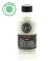 Restoring Herbal Exfoliant with Tea and Roses by Qet Botanicals - $36.00