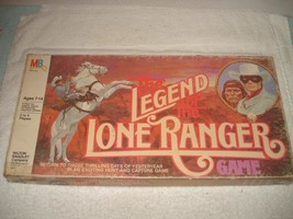 VINTAGE 1980 THE LEGEND OF THE LONE RANGER BOARD GAME 100% COMPLETE - $24.99