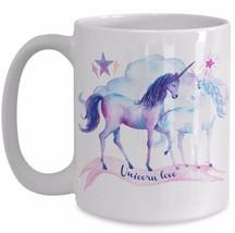 Unicorns Gift For Her Daughter Girlfriend Mom - Unicorn Love -Coffee Tea... - $19.50+