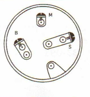 Snapper lawn mower ignition starter switch 1-1155, 7011155
