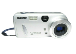 Sony Cyber-Shot DSC-P52 HD Digital Camera - Silver - $13.99