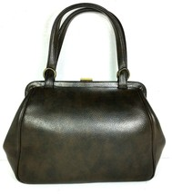 Garay True Vintage Brown Faux Leather Handbag - $43.64