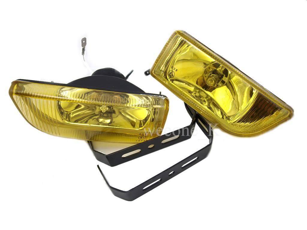 "DLAA H3 12V 55W 2"" YELLOW UNIVERSAL FOG LIGHT LAMP"