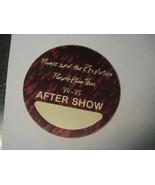 Prince Purple Rain World Tour After Show Backstage Pass Rare Circle VARI... - $39.60