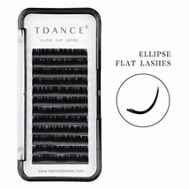 TDANCE Eyelash Extension Supplies,Ellipse Eyelash Extensions 0.1mm D Cur... - €8,78 EUR