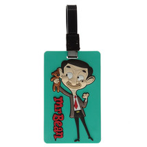 Fun Novelty Mr Bean PVC Luggage Tag 3D Suitcase Chidrens Kids Travel Label - $7.46