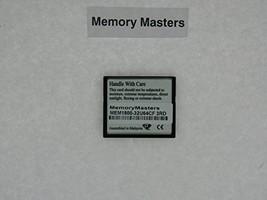MEM1800-32U64CF 64MB CompactFlash Card for Cisco 1800 routers(MemoryMasters)