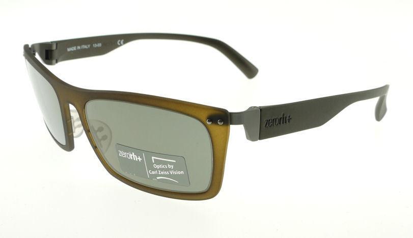 a3d141cd00 Zerorh+ Zetha Matte Brown   Gray Sunglasses and 50 similar items