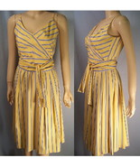 Sunny Yellow spagetti strap sun dress size 4 new - $18.50