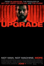 "Upgrade Movie Poster Leigh Whannell Scif 2018 Art Film Print 13x20"" 27x40"" 32x48 - $10.79+"