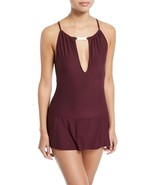 NWT KATE SPADE XL Crescent Bay high neck keyhole swim dress swimsuit dee... - $87.29