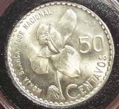 KM#264 1963 Guatemala Silver 50 Centavos BU #0637 - $17.99