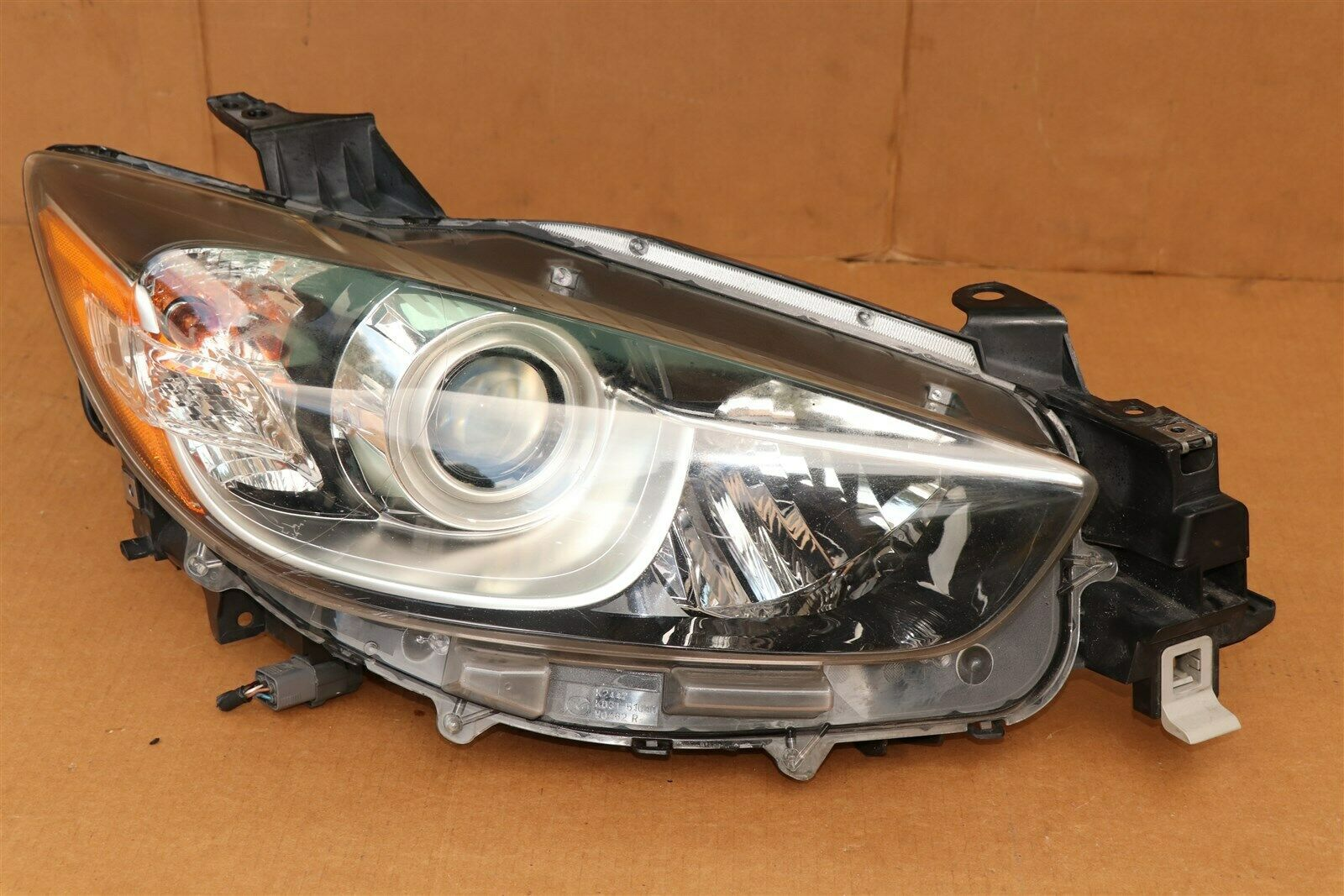 13-16 Mazda CX-5 CX5 Headlight Lamp Halogen Passenger Right RH