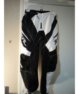 ONEAL MOTOCROSS PANTS--SIZE 30--BLACK / WHITE--MENS--ELEMENT -FREE SHIP-... - $42.48