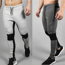 Men's Fashion Pants 2018 Autumn Winter Thicken Gym Fitness Men Sweatpants Casual - $32.64