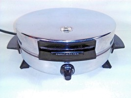 VINTAGE TOASTMASTER WAFFLE MAKER IRON CHROME, BAKELITE HANDLES FEET MODE... - ₨2,614.30 INR