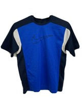 Nike vintage youth boys t-shirt sport short sleeve polyester size M 10-12 - $13.75