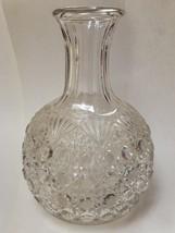 Vintage FOSTORIA Valkyrie aka Fostoria #402, aka Cane & Fan Water Carafe - $49.99