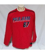 VTG Ralph Lauren Polo Jeans Co Long Sleeve Shirt Spell Out 90s Heavy RLX... - $39.99