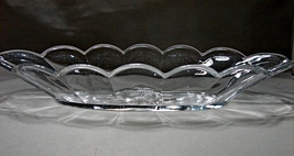 Collectible Krys-Tol Clear Glass Celery/ Relish Dish ca.1900 Pat Feb 5 1907 - $30.00
