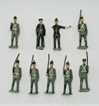 Britains Ltd Toy Soldiers Lot of 9 Police Bobby Sailor West Point Cadet VTG Mix - $48.19