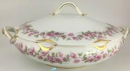 Haviland Limoges Schleiger 498 (var.) Covered vegetable bowl  - $50.00