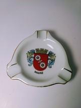 Elisenfels Arzberg Bavaria Porcelain Motiv Aschenbecher Mainz Ashtray Rare - $6.93