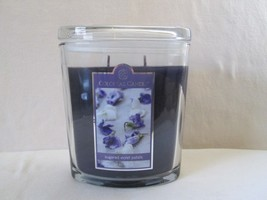 Colonial Candle ~~SUGARED VIOLET PETALS~~ 22 oz Lge Oval Jar, 2 wick - $38.99