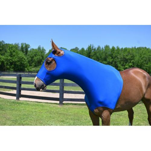 Gatsby Lycra Hood full zipper Horse Size Small Royal Blue