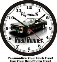 1980 PLYMOUTH VOLARE ROAD RUNNER WALL CLOCK-FREE USA SHIP! - $28.70+
