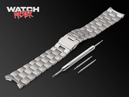 20  22mm For TAG Heuer Carrera Watch Stainless Steel Bracelet Strap Band Silver  - $47.90