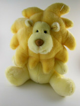 "Yellow Baby LION by Russ Berrie Rattle 12"" Stuffed Animal ROARIE Plush S... - $13.26"