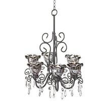 Chandelier Candles, Candle Holders For Chandelier Candle Light - Midnight Black - $37.99
