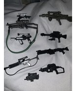 9-Star Wars Lot Of Guns Weapons See Pictures - $9.49