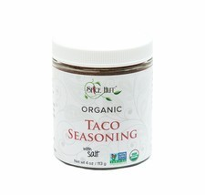 Organic Taco Seasoning - Jar w/ Salt - $9.79