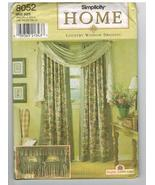 Simplicity Uncut Sewing Pattern #8052 Country Window Dressing Curtains D... - $5.70